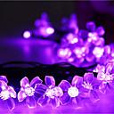 hesapli Yenilikçi LED Işıklar-7m Dizili Işıklar 50 LED'ler Dip Led Sıcak Beyaz / RGB / Beyaz Şarj Edilebilir / Kısılabilir / Su Geçirmez 100-240 V / IP44