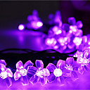 ieftine Accesorii Wii-Fâșii de Iluminat 50 LED-uri Dip Led Alb Cald / RGB / Alb Rezistent la apă 100-240 V 1set / IP44