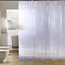 hesapli Küpeler-Duş Perdeleri Modern PEVA Çiçek / Botanik Makine Yapımı