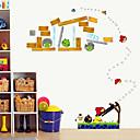 hesapli Köpek Giyim ve Aksesuarları-Dekoratif Duvar Çıkartmaları - Uçak Duvar Çıkartmaları Moda / Botanik / Karton Oturma Odası / Yatakodası / Çalışma Odası / Ofis