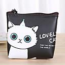 hesapli Masaüstü Düzenleyicileri-karikatür kedi deseni pu deri değiştirme çanta