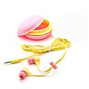 hesapli Ses ve Video Kabloları-Kulakta Kablolu Kulaklıklar Plastik Cep Telefonu Kulaklık Mikrofon ile / Gürültü izolasyon kulaklık