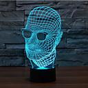 abordables LED à Double Broches-1 pièce Eclairage de Noël Lumière décorative Lampes de nuit A détecteur Intensité Réglable Imperméable Couleurs changeantes LED