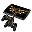 halpa PS3-tarvikkeet-B-SKIN B-SKIN USB Tarra Käyttötarkoitus Sony PS3 ,  Erikois Tarra Vinyyli 1 pcs yksikkö