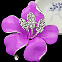 cheap Brooches-Women's Brooches - Brooch Purple / Rose / Red For Party / Daily / Casual