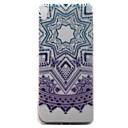 Buy Sony Xperia XA Case Cover Purple Campanula Pattern Painted TPU Material Phone
