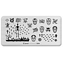 cheap Makeup & Nail Care-nail art stamp stamping image template plate cool series