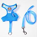 رخيصةأون LG أغطية / كفرات-قط كلب أربطة المقاود متنفس قابل للسحبقابل للتعديل كارتون قماش أزرق