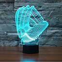 abordables LED à Double Broches-1 pièce Veilleuse 3D A détecteur / Intensité Réglable / Imperméable LED / Moderne / Contemporain