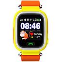 preiswerte Smart Aktivität, Clips & Armbänder-Uhr Sportuhr Modeuhr Smartwatch Digital Leder Blau / Orange / Rosa Wasserdicht Touchscreen Herzschlagmonitor digital Luxus Freizeit Orange Blau Rosa / Schrittzähler
