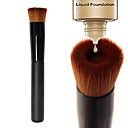 cheap Makeup & Nail Care-1pcs Makeup Brushes Professional Foundation Brush Nylon / Synthetic Hair Portable / Eco-friendly / Professional Wood Middle Brush