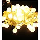 preiswerte PS4 Zubehör-10m Leuchtgirlanden 100 LEDs Warmes Weiß / RGB / Weiß Wasserfest 220 V / IP65