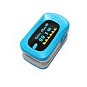 abordables Câbles USB-ying shi affichage oxymètres de pouls doigt manuel lcd avec batterie de stockage voix / mémoire blanc / rouge / vert / bleu / orange