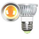 baratos Lâmpadas de Foco de LED-2pcs 5 W 2700-3000/6000-6500 lm E26 / E27 Lâmpadas de Foco de LED 1 Contas LED COB Regulável Branco Quente / Branco Frio 220-240 V / 110-130 V / 2 pçs / RoHs