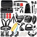 cheap Accessories For GoPro-Accessory Kit For Gopro For Action Camera Gopro 6 / Gopro 5 / Xiaomi Camera Swimming / Diving / Skiing Plastic / Nylon / EVA - 36 pcs / Gopro 4 / Gopro 3 / Gopro 2 / Gopro 3+ / Gopro 1