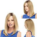 ieftine Peruci-Peruci Sintetice Drept Stil Fără calotă Perucă Blond Blond Păr Sintetic Pentru femei Trump Hair Blond Perucă Perucă Naturală / Da