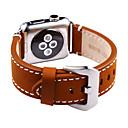 hesapli Nintendo 3DS Aksesuarları-Watch Band için Apple Watch Series 4/3/2/1 Apple Klasik Toka Gerçek Deri Bilek Askısı