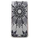Buy Sony Xperia XA Case Cover Black Campanula Pattern Painted TPU Material Phone