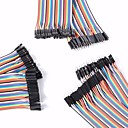 cheap Diodes-Universal Male to Male / Male to Female / Female to Female DuPont Cables Set for Arduino