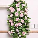 Χαμηλού Κόστους Θήκες και τσάντες Universal-Ψεύτικα λουλούδια 1 Κλαδί Ποιμενικό Στυλ Τριαντάφυλλα Λουλούδι Τοίχου