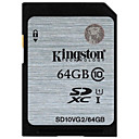 cheap Mac Cables-Kingston 64GB SD Card memory card UHS-I U1 Class10