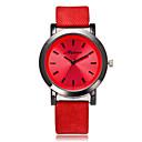 levne Dámské-Dámské Náramkové hodinky Křemenný Žhavá sleva Cool / PU Kapela Analogové Na běžné nošení Módní Bílá / Modrá / Červená - Červená Modrá Růžová