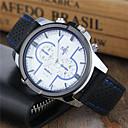 Недорогие Мужские часы-Муж. Спортивные часы Часы-брелок Наручные часы Кварцевый Повседневные часы Cool силиконовый Группа Аналоговый На каждый день Нарядные часы Черный / Белый / Синий - Черный Черный / Белый Черный / Синий