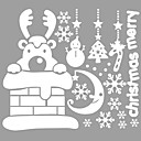 זול מטענים-מדבקות קיר דקורטיביות - מדבקות קיר מטוס חיות רומנטיקה צורות Christmas חג Words & Quotes סלון חדר שינה מקלחת מטבח חדר אוכל משרד חדר בנים