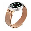hesapli Makyaj ve Tırnak Bakımı-Watch Band için Gear S3 Frontier Gear S3 Classic Samsung Galaxy Spor Bantları Metal Paslanmaz Çelik Bilek Askısı