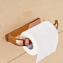 hesapli Köpek Yakalar, Kuşaklar ve Kayışlar-Tuvalet Kağıdı Tutacağı Çağdaş Pirinç 1 parça - Otel banyo