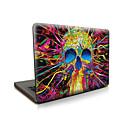 お買い得  ケース、バッグ & ストラップ-MacBook ケース スカル / Halloween プラスチック のために MacBook Pro 15インチ / MacBook Air 13インチ / MacBook Pro 13インチ