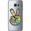 abordables Coques / Etuis pour Galaxy Série S-Coque Pour Samsung Galaxy S7 edge S7 Ultrafine Transparente Motif Coque Bande dessinée Flexible TPU pour S7 edge S7 S6 edge plus S6 edge