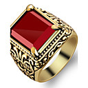 cheap Rings-Men's Ring - Fashion 7 / 8 / 9 Red For Party / Daily / Casual