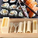 hesapli Fırın Araçları ve Gereçleri-Mutfak aletleri Plastik Sushi Aracı Pişirme Kaplar İçin 1set