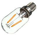 tanie Żarówki filament LED-1szt 2W 170lm E14 Żarówka dekoracyjna LED S14 2 Koraliki LED COB Dekoracyjna Ciepła biel 220-240V