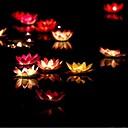Χαμηλού Κόστους Πρωτότυπα φωτιστικά LED-1 τμχ Φως κεριών Αδιάβροχη Παραδοσιακό/Πεπαλαιωμένο Χαρακτηριστικό Κεριού