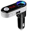hesapli CCTV Sistemleri-bluetooth fm verici handsfree bluetooth araç kiti USB şarj portu