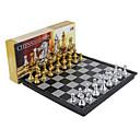 preiswerte Körperschmuck-Bretsspiele Schachspiel Schach Magnetisch Einziehbar 1 pcs Jungen Mädchen Spielzeuge Geschenk