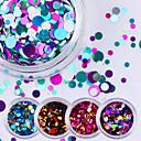 cheap Makeup & Nail Care-12pcs Glitter Powder Sequins nail art Manicure Pedicure Daily Glitters / Fashion