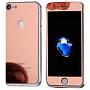 hesapli Cep Telefonu Süsleri-Ekran Koruyucu için Apple iPhone 7 Temperli Cam 1 parça Ön ve Arka Koruyucu Aynalı
