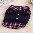 preiswerte Hundespielsachen-Katze Hund Pullover Hundekleidung Plaid/Karomuster Regenbogen Baumwolle Kostüm Für Haustiere Niedlich Sport