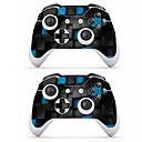 זול אביזרים ל-Xbox One-B-SKIN XBOX ONE  S PS / 2 מדבקה עבור Xbox One S ,  מודרני, חדשני מדבקה PVC 1 pcs יחידה