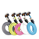 cheap iPhone Cables & Adapters-USB 3.0 Lightning USB Cable Adapter Data & Sync Charger Cord Charging Cable Cord Flat Cables Cable For iPad Apple iPhone 100 cm TPU