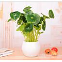 hesapli Ofis Malzemeleri-Yapay Çiçekler 1 şube Modern Stil Bitkiler Masaüstü Çiçeği