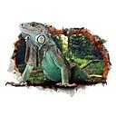 levne Galaxy S pouzdra / obaly-Zvířata Komiks 3D Samolepky na zeď Samolepky na stěnu 3D samolepky na zeď Ozdobné samolepky na zeď, Vinyl Home dekorace Lepicí obraz na