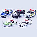رخيصةأون بروشات-لعبة سيارات Playsets السيارة سيارة سباق سيارة الشرطة سيارة كلاسيكي & خالد أنيقة & حديثة للصبيان للفتيات ألعاب هدية / معدن