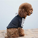 Buy Dog Hoodie Sweatshirt Clothes Casual/Daily Sports Solid Black Yellow Red Blue Pink Costume Pets