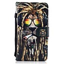 cheap Galaxy J Series Cases / Covers-Case For Samsung Galaxy J5(2016) / J3(2016) Wallet / Card Holder / with Stand Full Body Cases Animal Hard PU Leather for J5 (2017) / J5 (2016) / J5