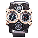 cheap Men's Watches-JUBAOLI Men's Quartz Sport Watch Large Dial Alloy Band Charm Black