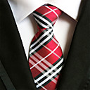 رخيصةأون ربطات عنق-ربطة العنق مخطط رجالي حفلة / عمل / أساسي